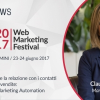 MagNews protagonista al Web Marketing Festival 2017 con l'Email Marketing Automation