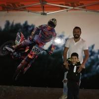 Daniele di Cavolo appassionato di Moto Cross