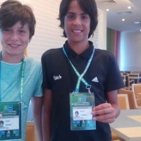 Calcio - Confederation Cup, i ragazzi della Delfino Pescara a San Pietroburgo
