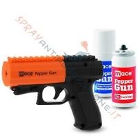 MACE PEPPER GUN 2 NERA: la nuova pistola spray al peperoncino solo su Sprayantiaggressione.it