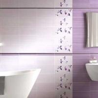 La scelta delle piastrelle in un bagno moderno