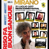 MIRANO (VE)-ENRICO NADAI,DAVIDE STEFANATO,PAOLO FAVARO, MARCO E FRANCESCO, GIUSY ZENERE, PAOLO MIGONE, PAOLO FRANCESCHINI, FRANCESCO DAMIANO E RIGHEA BIG BAND IN RISO FA BUON SANGUE
