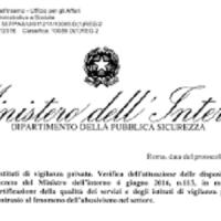 Certificazioni istituti di vigilanza: dal Ministero stop all'abusivismo