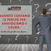 Anatocismo e usura: quanto costano le perizie econometriche. Quello che gli altri non dicono!