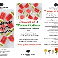 Ferragosto al Country Club Castelgandolfo tra piscina e golf....