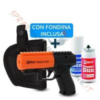 Kit completo Mace Pepper Gun 2 nera con fondina: un'altra esclusiva di Sprayantiaggressione.it