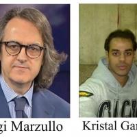CASTELLABATE - GIGI MARZULLO  NEL CILENTO PER REGISTRARE UNA INTERVISTA CON KRISTAL GANDHI