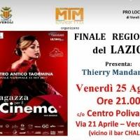 """""""Una Ragazza per il Cinema"""", finale regionale il 25 Agosto a Veroli (FR)"""