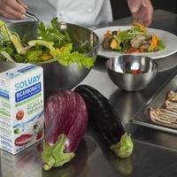 Danilo Angè firma le ricette esclusive per Bicarbonato Solvay® Frutta & Verdura