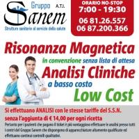 Laboratorio analisi convenzionate a Roma Gruppo Sanem