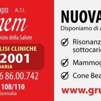 Laboratorio analisi Roma – Nuova apertura di Sanem 2001 seconda sede - Cone Beam e mammografia con tomosintesi
