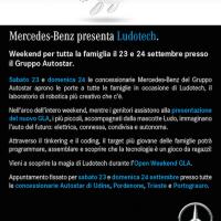 Mobilità del futuro: da Autostar il weekend per i più piccoli firmato Mercedes-Benz