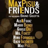 Max Pisu & Friends in scena il 3 ottobre a Legnano in memoria di Bruno Gulotta