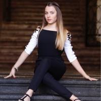 La giovanissima Marta Barrano ospite al Porto Expò 2017 Festival delle Arti Ostia – Porto turistico di Roma