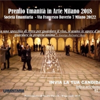 Premio Umanità in Arte Milano 2018
