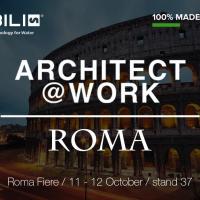 NOBILI RUBINETTERIE AD ARCHITECHT@WORK ROMA 2017