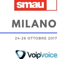 "INNOVAZIONE DIGITALE E UN BUSINESS SEMPRE PIU' ""SMART"": VOIPVOICE TORNA A SMAU MILANO"