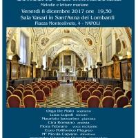 Musica,poesia ed arte per l'Immacolata a Napoli
