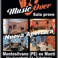 "MONTESILVANO : NASCE ""MUSIC OVER"" UNA SALA PROVA PER LA MUSICA"