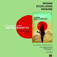 GIOVANI ECCELLENZE PATAVINE: PARTE LA TERZA EDIZIONE CON LO SCRITTORE MATTEO RIGHETTO