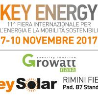 Rimini Fiera – Growatt Italia partecipa all'11^ edizione di KeyEnergy