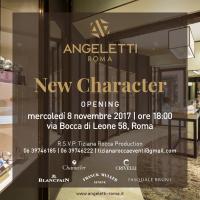 La storica gioielleria Angeletti fondata nel 1940, festeggia il nuovo Showroom nel cuore di Roma.