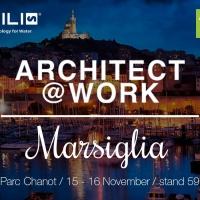 NOBILI RUBINETTERIE PRESENTE A  ARCHITECHT@WORK MARSIGLIA 2017