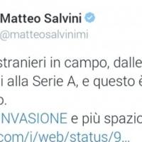 Russia 2018, Salvini: