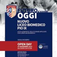 Il futuro si sceglie oggi: il 25 novembre l'Open Day del primo liceo biomedico di Roma