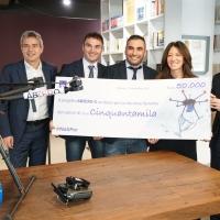 AXA Italia mette le ali ad Abzero, vincitore di  #NatiPer, grazie a un premio del valore di 50.000 euro. Strumenti e software per far volare il drone per la vita