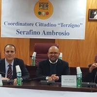 """Terzigno, bagno di folla per la """"prima"""" di Energie Per l'Italia.  Circa 400 persone hanno risposto all'invito di Serafino Ambrosio."""
