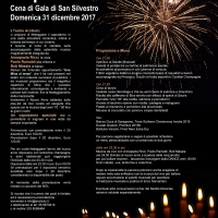Capodanno 2018 al Teatro Arciliuto di Roma – Cena di Gala di San Silvestro / Musica dal vivo