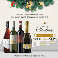 I migliori vini in promozione per i tuoi regali di Natale