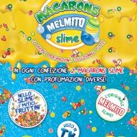 Il divertimento diventa coloratissimo e profumatissimo con i Macarons melmito slime di Sbabam