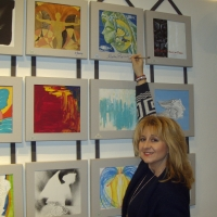 Carla Rosso espone alla Mostra