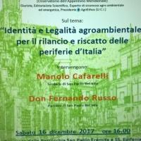 San Paolo Bel Sito Sabato 16 dicembre 2017 Lectio Magistralis del Prof. Luigi Cerciello Renna. (Scritto da Antonio Castaldo)