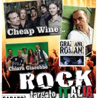 ROCK TARGATO ITALIA con Chiara Giacobbe  Cheap Wine e Graziano Romani a Chiari (BS)