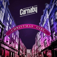 I Carnaby in radio con Christmas Girl, il singolo di Natale della band italo-americana
