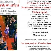 Arte e musica: il 20 dicembre nel cuore della capitale la II° edizione del progetto.