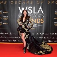 I lussuosi e fiabeschi abiti couture di Nordic Angels incantano l'étoile Lorena Baricalla per il Monaco WSLA
