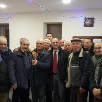 Mariglianella Sindaco Di Maiolo nello scambio di Auguri di Buon Natale e  Felice Anno Nuovo presso il Centro Sociale Anziani.