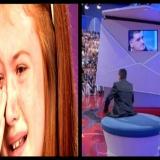 Tv - Le lacrime vere della Clerici e quelle finte dalla De Filippi , la tv della gioia e del dolore a confronto