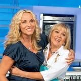Antonella Clerici e Anna Moroni - Il Cilento le premia per la cucina mediterranea.
