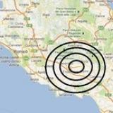 Roma - Forte scossa di terremoto di 4.8. Epicentro a Sora (Frosinone) .