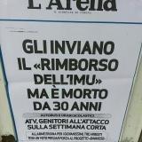 Rimborso Imu , le lettere di Berlusconi anche ai morti da 30 anni. Di Marco Nicoletti