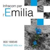 Infracom Italia: spazi gratuiti per le aziende colpite dal Terremoto in Emilia