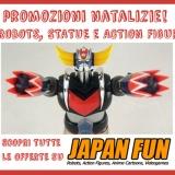 Voglia di action figures, statue, robot? Regalati un Natale all'insegna del Giappone