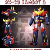 SOUL OF CHOGOKIN GX-23 ZAMBOT 3: torna in produzione il robot di culto BANDAI