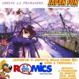 JapanFun al ROMICS 2013: fiera del fumetto, animazione e videogiochi a Roma