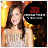 Teresa Missoni propone la sua Xmas Wishlist in esclusiva per PrivateGriffe